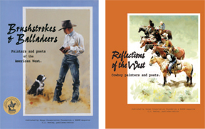 Cowboy Painter/Poet Pair! <BR>